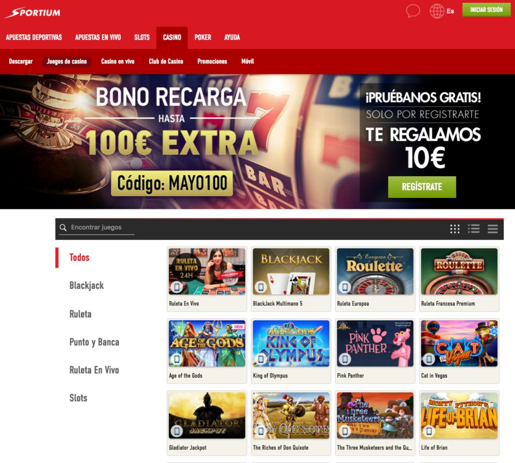 Casino juega gratis sin deposito