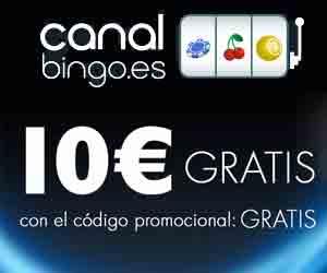 Canal Bingo 10 eur gratis